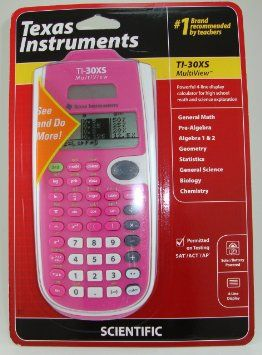 Texas Instruments TI-30XS Multiview Scientific Calculator (Pink)