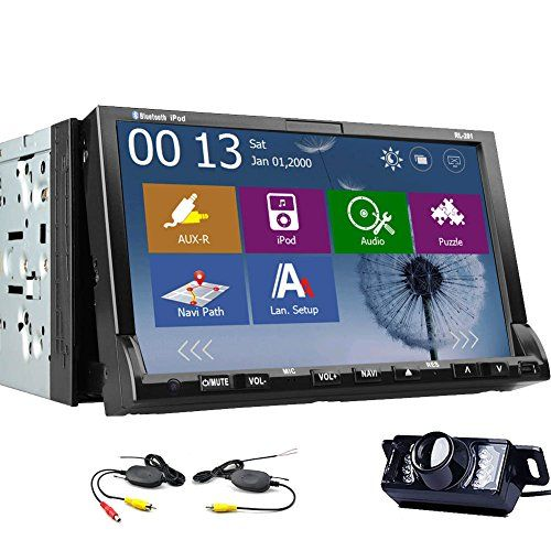Special Offers - WIRELESS Backup Camera 7 inch 2 Din Windows CE 8.0 In-dash Car DVD Player Navigation-ready GPS - In stock & Free Shipping. You can save more money! Check It (July 13 2016 at 06:46AM) >> http://cargpsusa.net/wireless-backup-camera-7-inch-2-din-windows-ce-8-0-in-dash-car-dvd-player-navigation-ready-gps/
