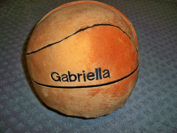 Personalized Sports Pillow - Basketball Plush Pillow Personalized wit ...: pinterest.com/pin/494973815268982107