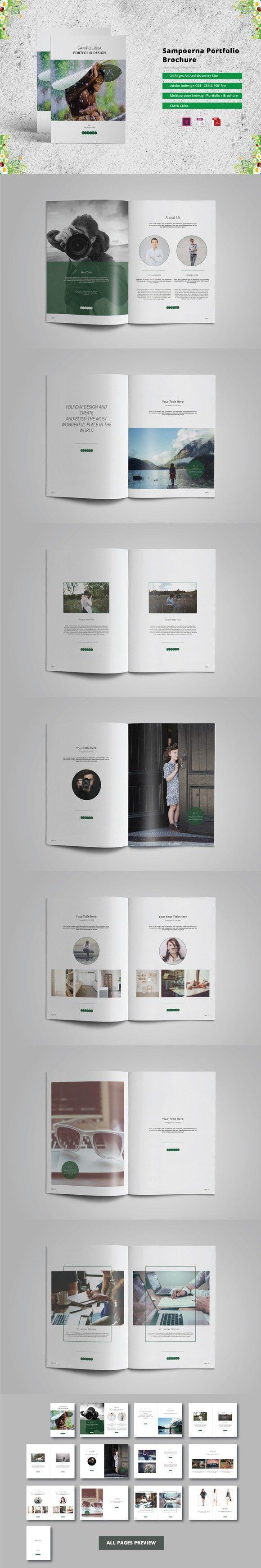Sampoerna Portfolio / Brochure. Proposal Brochure Templates. $10.00