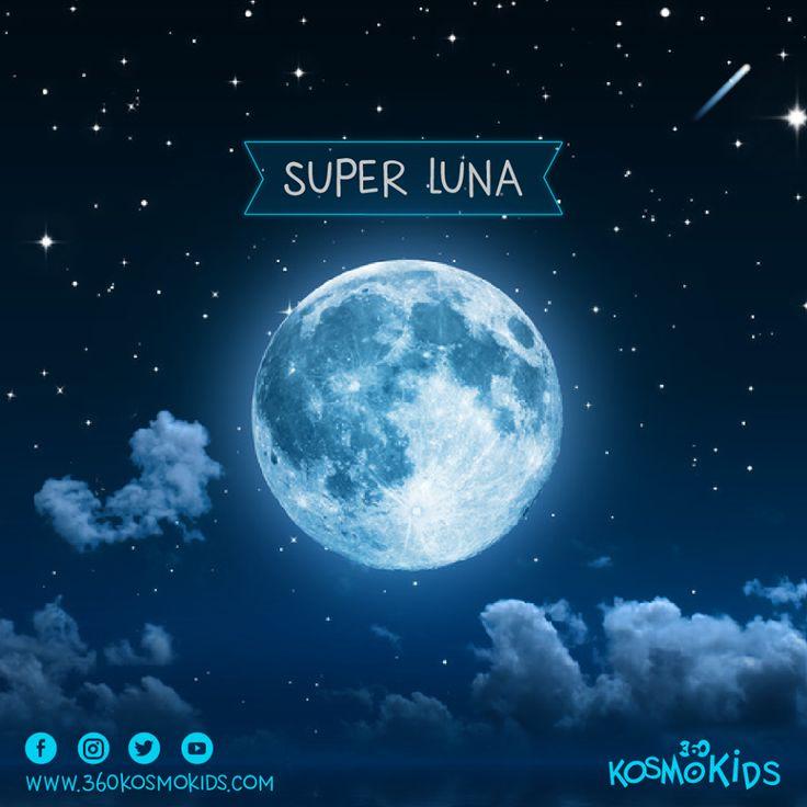 ¿Cómo vivieron y sintieron la #SuperLuna? Este fenómeno no se repetirá hasta el 25 de noviembre de 2034. ¡Somos afortunados de su gran presencia! Nos pueden contar su experiencia. #360KosmoKids #Astronomía #Astrología #Horóscopo #Luna #Educación #Universo #Galaxia