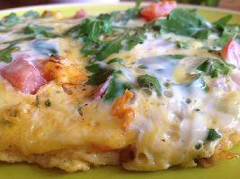 Lunchgerecht met ei: Frittata. Makkelijk te maken en helemaal VZL.