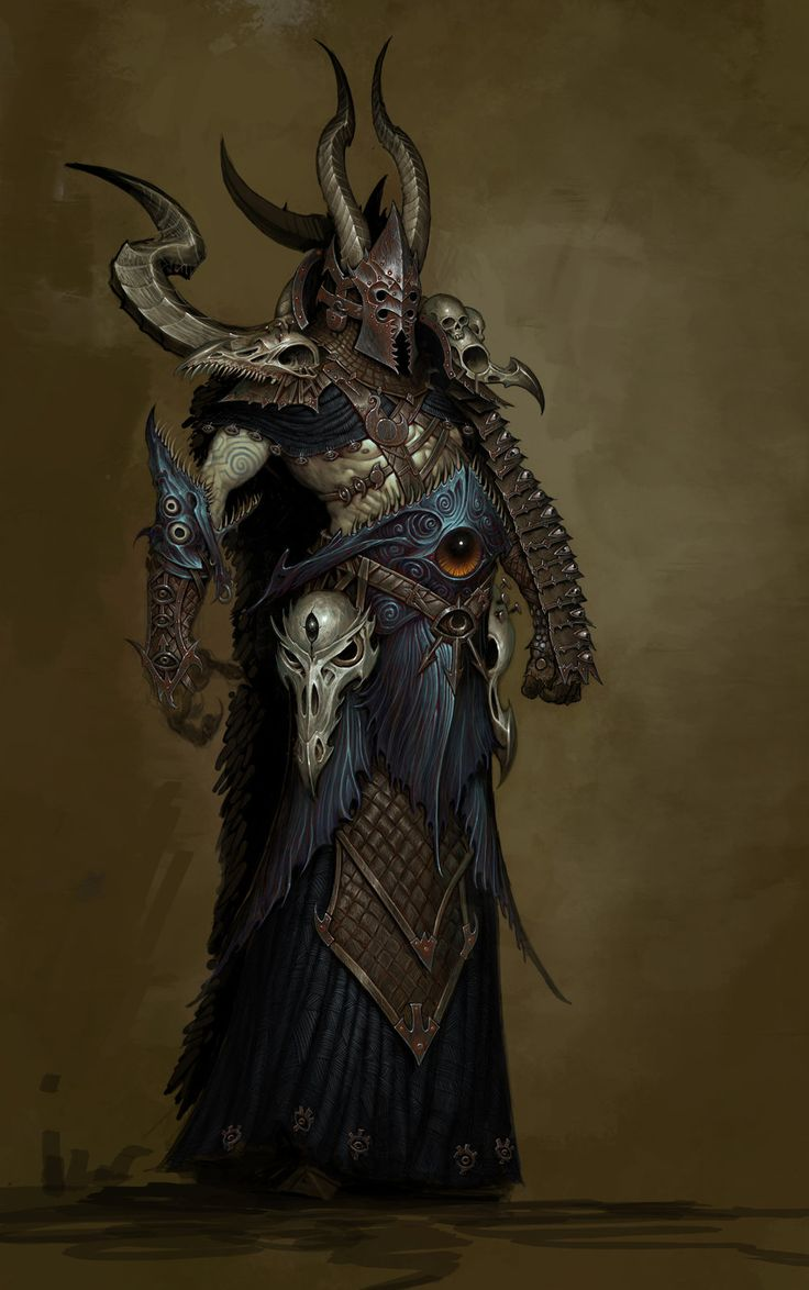 Tzeentch Zealot, from Warhammer Age of Reckoning.