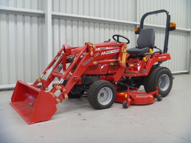 MASSEY FERGUSON GC1705 COMPACT TRACTOR for sale