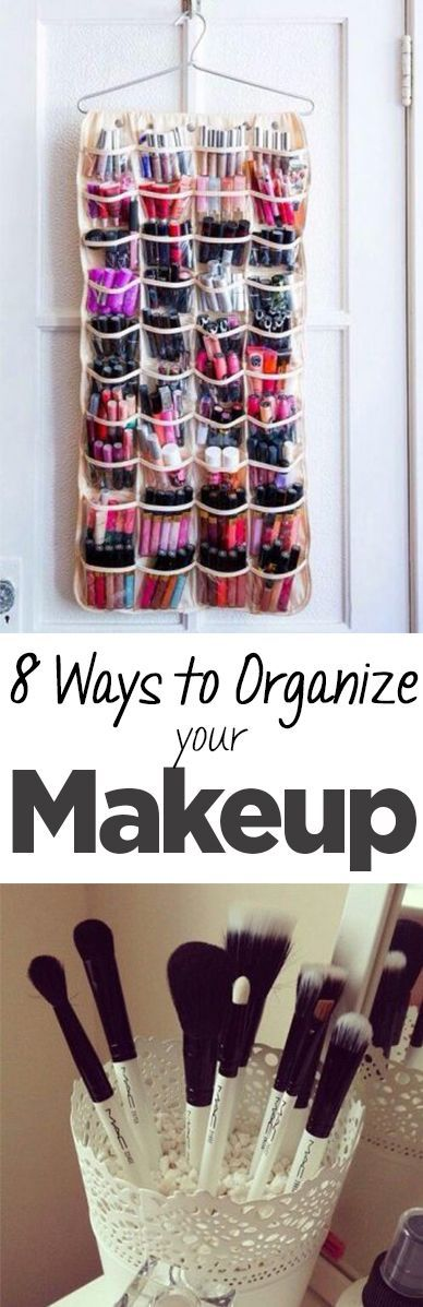 Makeup organization and storage ideas to keep your makeup in place instead of all over the place. . anavitaskincare.com