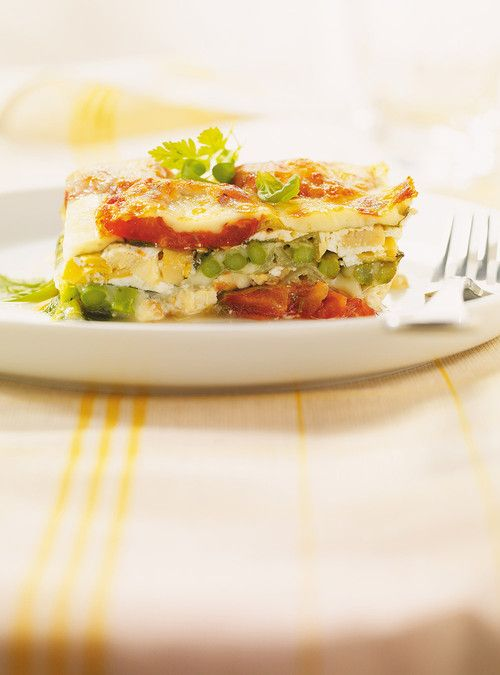 Lasagne végétarienne sans pâte