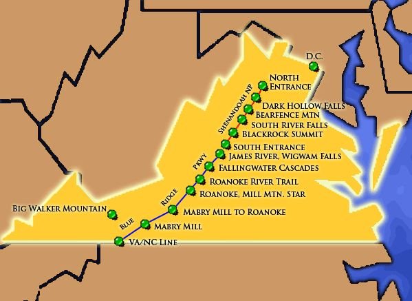 1000 images about Camping Trip Vol 2015 VirginiaWest Virginia – Tourist Attractions Map In Virginia
