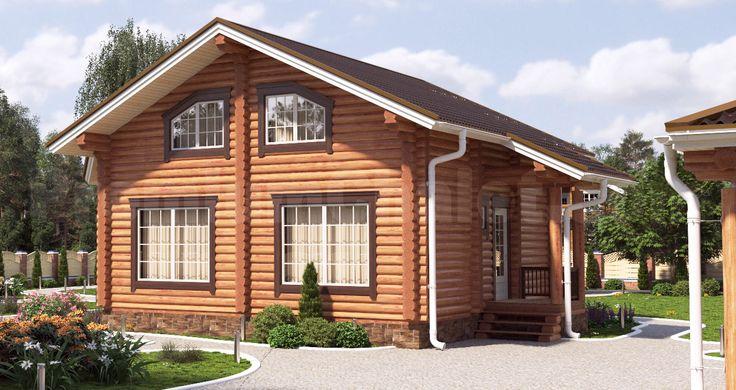 Проект деревянного дома — Надёжное пристанище — НП-138