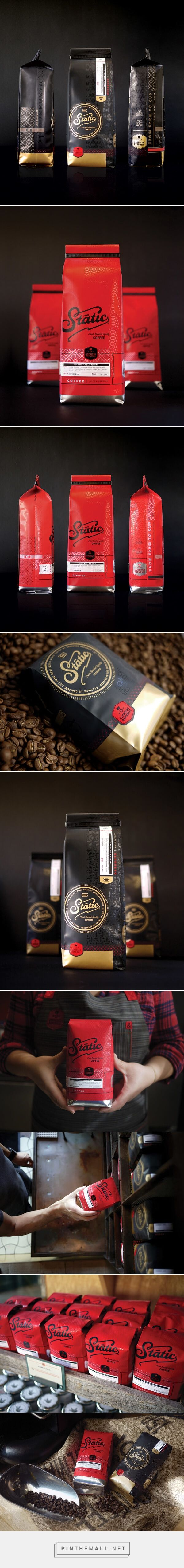 Fantastic Branding by Farm Design for Coffee Brand Static - created via https://pinthemall.net