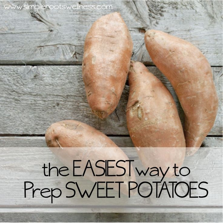 The Easiest Way to Prepare a Sweet Potato | simplerootswellness.com
