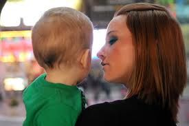 Teen Mom Maci Bookout and Bentley
