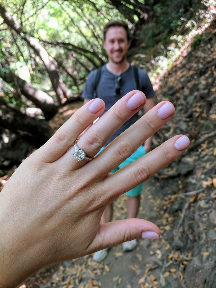 "It's #WeddingWednesday and we have another special #engagement to share... #Congratulations to Wade Askew & Hannah Hunt! 👏💍  Wade shared the following about his experience #customdesigning Hannah's #engagementring and planning the #proposal: ""For about six weeks, I had the pleasure of working with Melissa and Cumberland Diamond Exchange to create a custom ring for my now-fiance, Hannah. Despite the fact that I live in Oakland, CA, CDE could not have been more communicative and…"