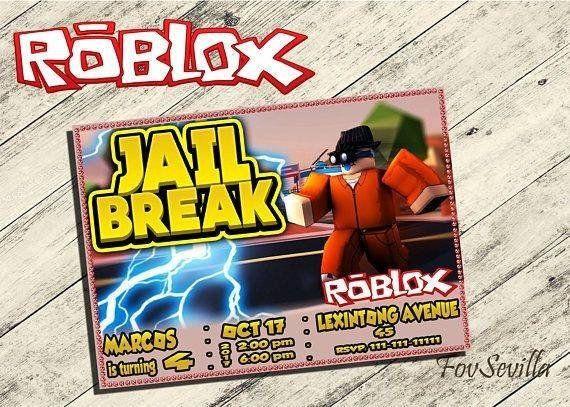 Roblox Jail Break Invitación Roblox Invitación De