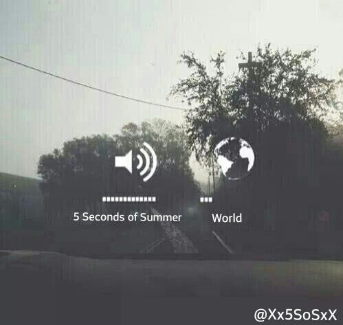 5 Seconds of Summer will always be there ♥︎