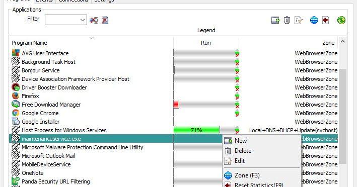 Το Windows 10 Firewall Control είναι μία απλή αλλά πλήρης λύση για να ελέγχετε σε πραγματικό χρόνο την δραστηριότητα των εφαρμογών του υπολογιστή σας. Εμποδίζει την ανεπιθύμητη δραστηριότητα εφαρμογών που τρέχουν τοπικά ή εξ αποστάσεως. Παρέχει λεπτομερή καταγραφή και κοινοποίηση κάθε δραστηριότητας της εφαρμογής με το διαδίκτυο. Επιτρέπει τη χρήση και τη δημιουργία δικαιωμάτων στις εφαρμογές για τον έλεγχο της δραστηριότητας τους. Περιλαμβάνει ένα πλούσιο σύνολο προκαθορισμένων έτοιμων προς…