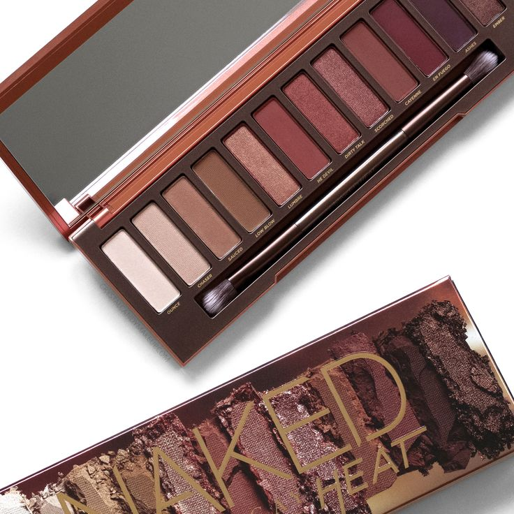 Urban Decay Naked Heat eyeshadow palette, review and swatches