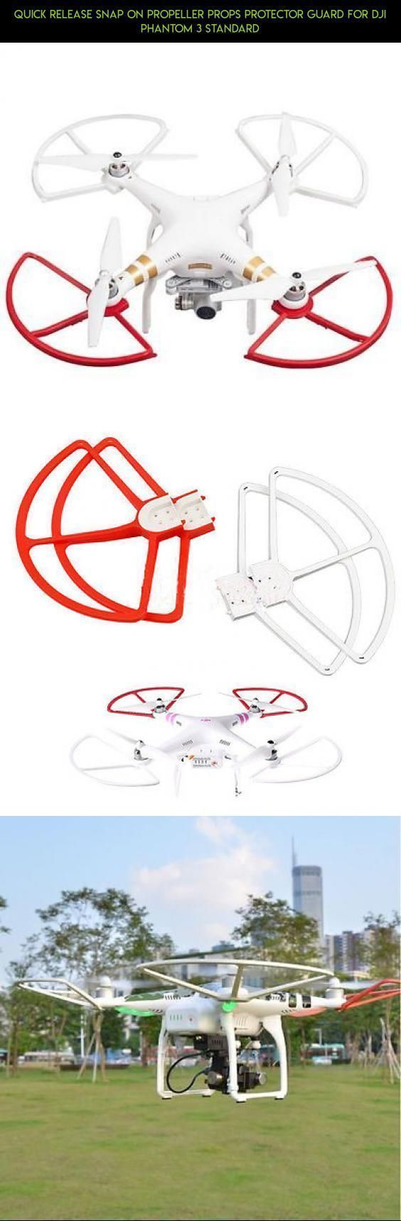 Quick Release Snap On Propeller Props Protector Guard For DJI Phantom 3 Standard #plans #tech #camera #gadgets #kit #dji #standard #products #fpv #racing #phantom #propeller #guards #shopping #technology #3 #drone #parts #phantom3droneproducts