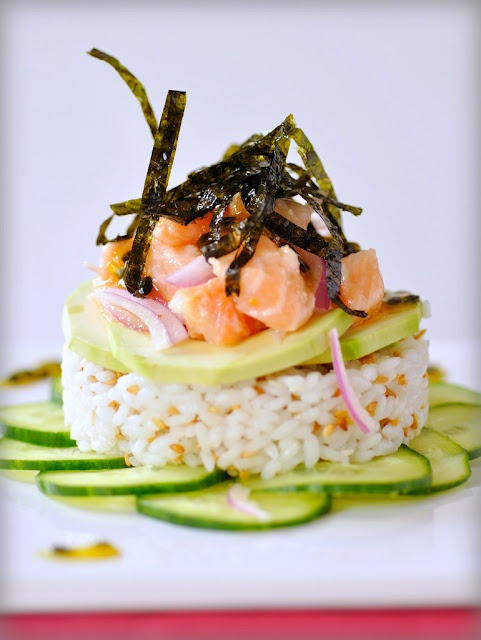 """Pretty sure I'm making this tonight along with some regular sushi. Couldn't find sushi grade red snapper, so I thought I'd try doing a ceviche and """"cook"""" it in some lemon and lime juice. We'll see how it turns out :)"""