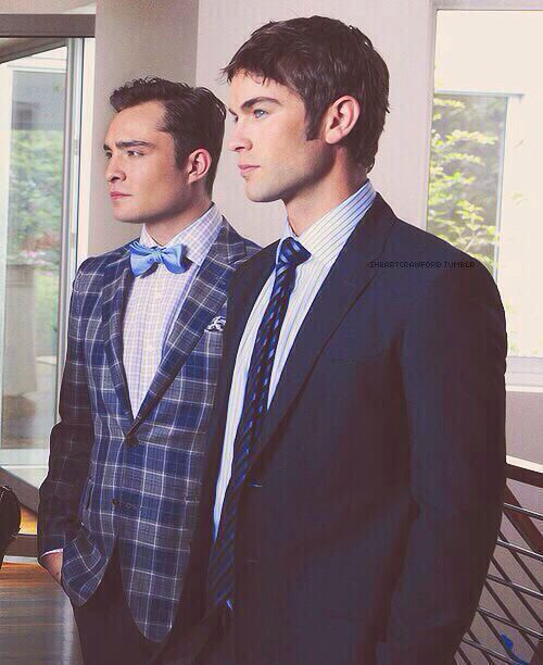 Chuck Bass and Nate Archibald