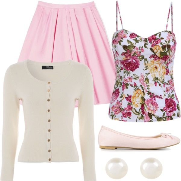 cat valentine outfit by alexisrom on Polyvore featuring Jane Norman, Carven, Nly Shoes, Accessorize, women's clothing, women's fashion, women, female, woman and misses
