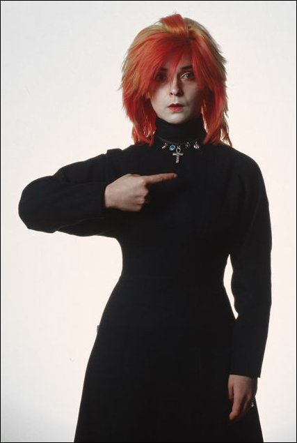 toyah guys I went out with guys first when i was about 13 to 15 and then i just stopped i never actually went out with a woman or anything  punk rock star toyah willcox .