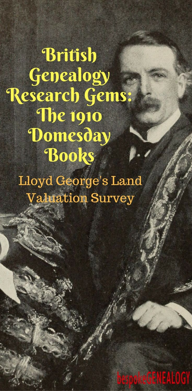 British Genealogy Research Gems: The 1910 Domesday Books | Bespoke Genealogy