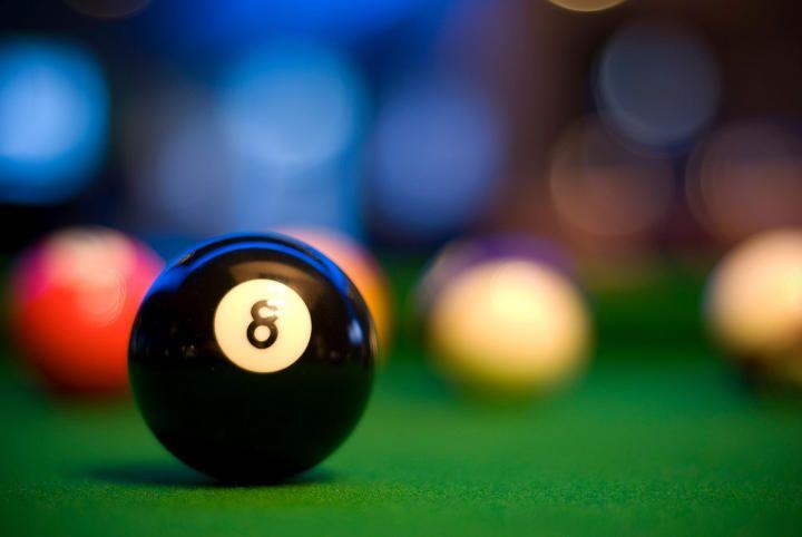 8 ball http://www.insidepoolmag.com/201012/billiard-news/longest-billiards-match-world-record-attempt.html