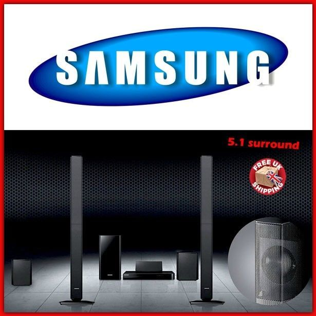 Samsung Home Theater System DVD Blu Ray 3D Cinema Surround Sound Speakers Music