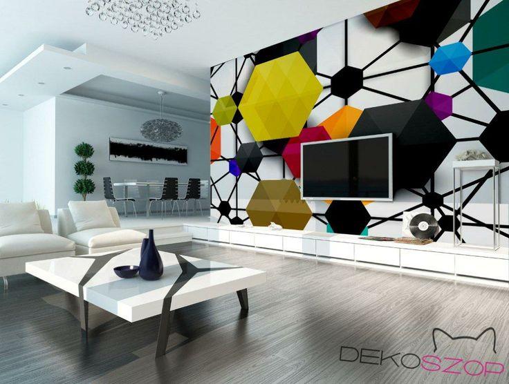 Geometrycznie, barwnie, wyjątkowo/  Geometrically, colorfully, exceptionally; for. Dekoszop
