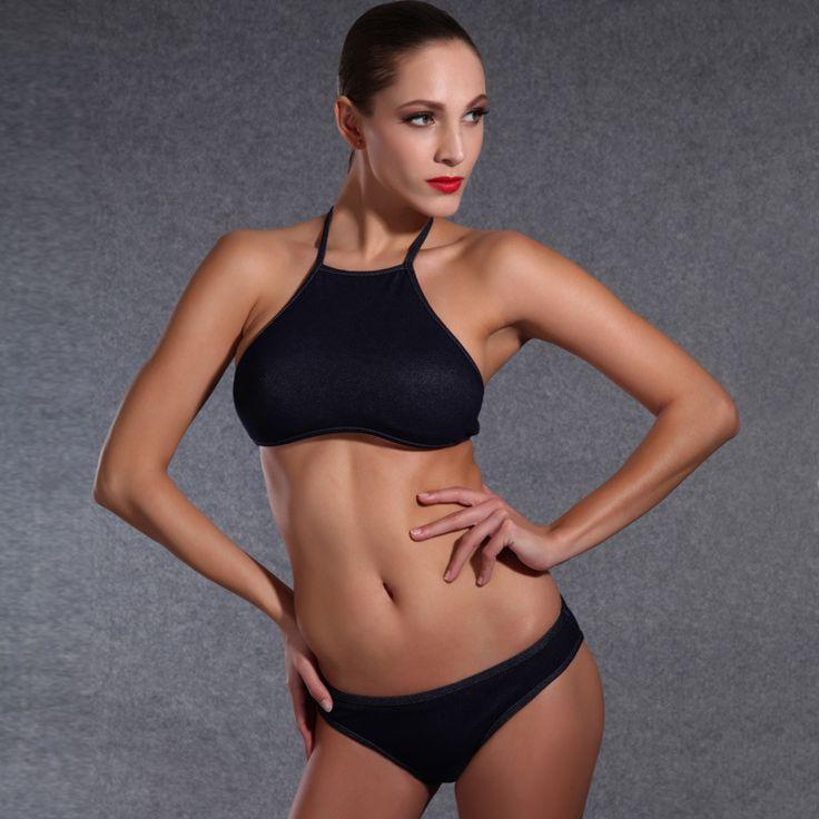 $32.41 (Buy here: https://alitems.com/g/1e8d114494ebda23ff8b16525dc3e8/?i=5&ulp=https%3A%2F%2Fwww.aliexpress.com%2Fitem%2FDenim-Highneck-Bikini-Juniors-Bathing-Suits-Miley-CyrusCostume-Snakeskin-Bikini-Modest-African-Indoor-Swimwear-Seafolly-Colaless%2F32741395532.html ) Denim Highneck Bikini Juniors Bathing Suits Miley CyrusCostume Snakeskin Bikini Modest African Indoor Swimwear Seafolly Colaless for just $32.41