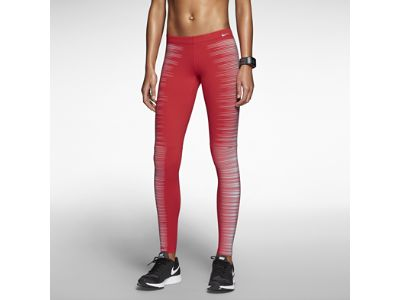 Nike Flash Women's Running Tights - love the pattern!