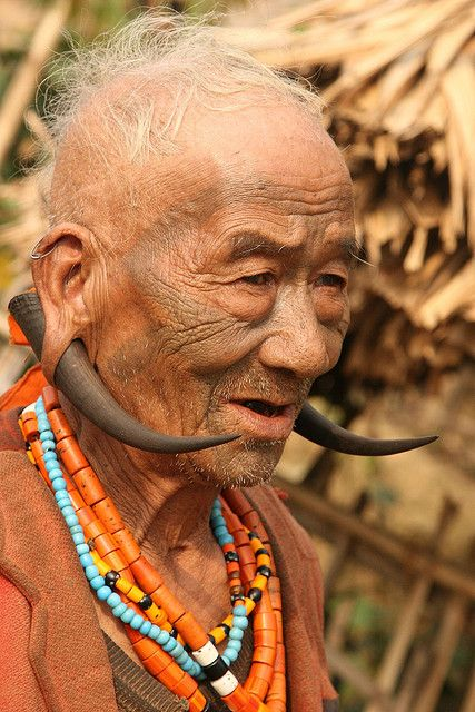 Naga Tribe . India