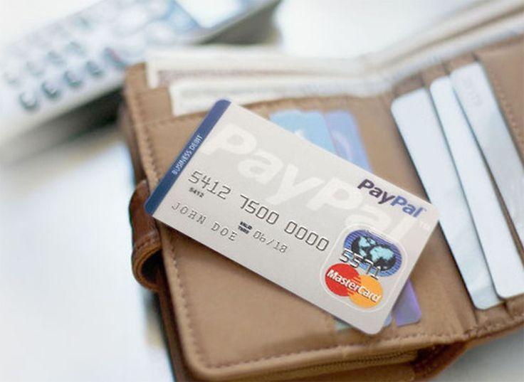 PayPal lanza su tarjeta de crédito en efectivo. #PayPal #Cashback  #Mastercard