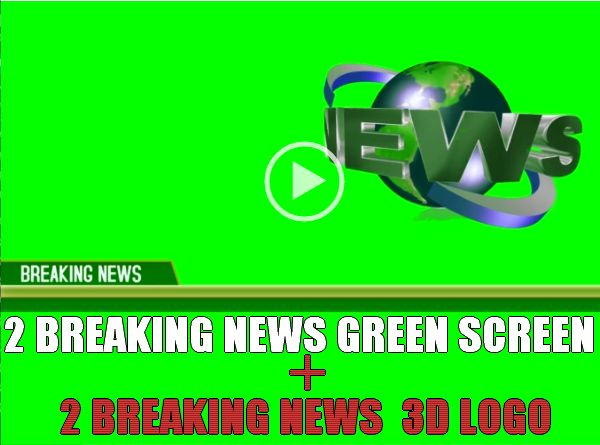 BREAKING NEWS GREEN SCREEN