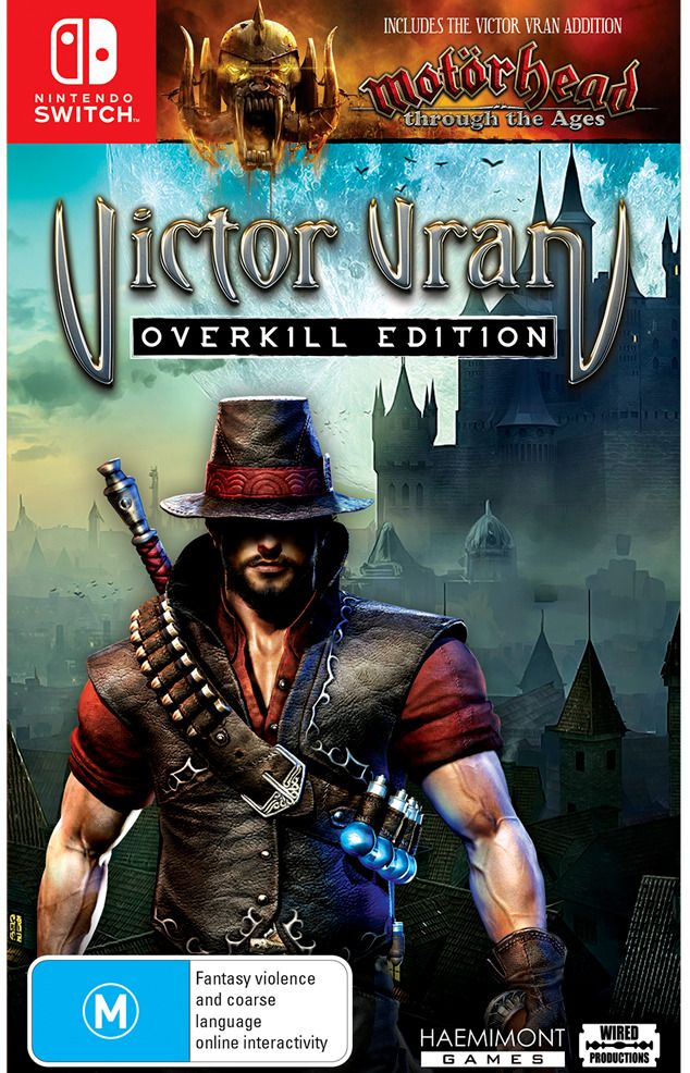 Details about Victor Vran Overkill Edition Nintendo Switch