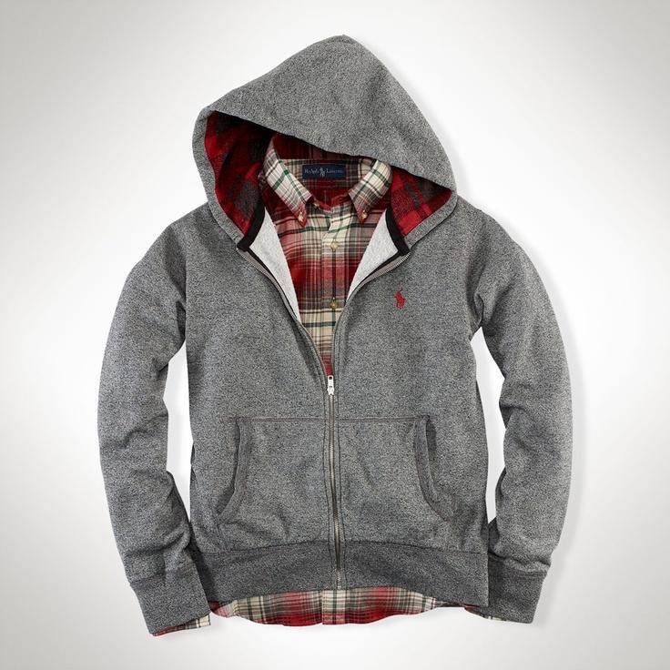 Polo Ralph Lauren Full-Zip Lightweight Fleece Hoodie #VonMaur