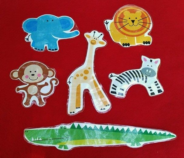 I found the song, We Went to the Zoo One Day on Read Sing Play, which Kendra used with puppets, and I decided to use it as a flannelboard…