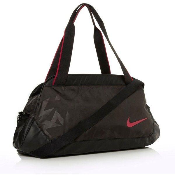 Nike black Legend Track shoulder bag (436.500 IDR) ❤ liked on Polyvore featuring bags, handbags, shoulder bags, nike, sac, sport, other sports, sports shoulder bag, nike shoulder bag and sport purse