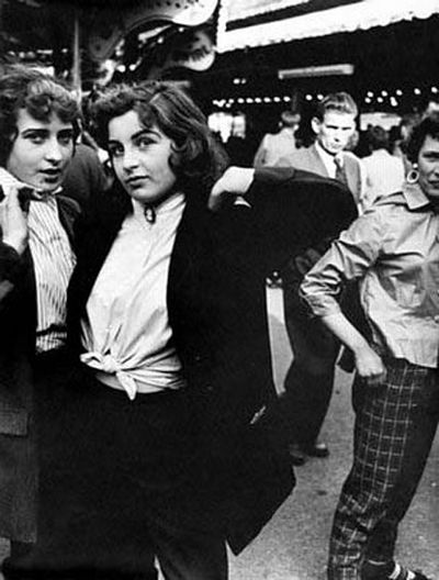 how did i never know about these teddy girl fashion before?  Teddy girl by Ken Russel