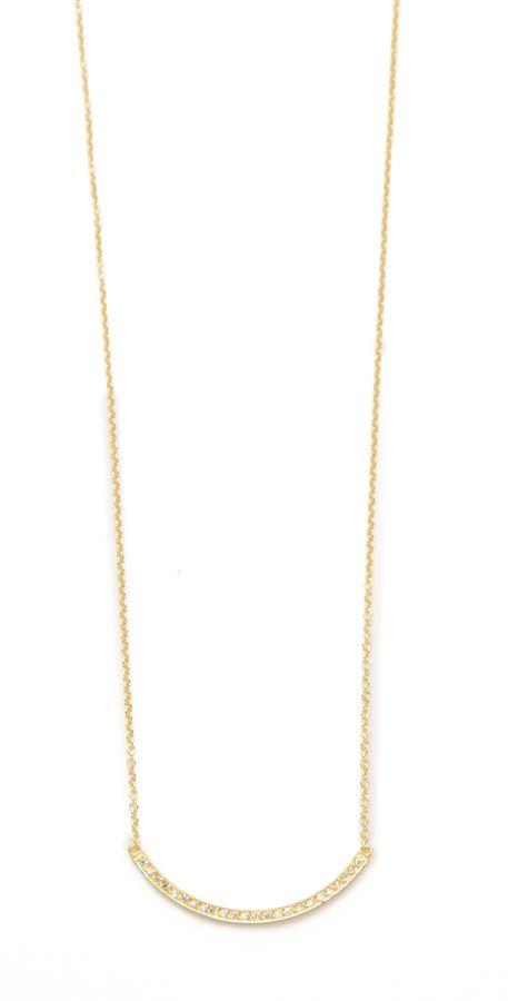 Jennifer Meyer Jewelry Diamond Stick Necklace - $1,050.00