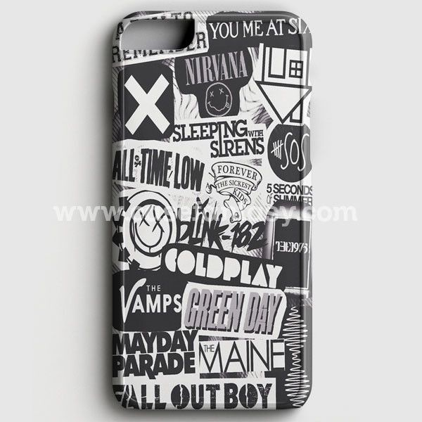 The Xxx,Vamps,Coldplay And The 1975 Band iPhone 6/6S Case | casefantasy