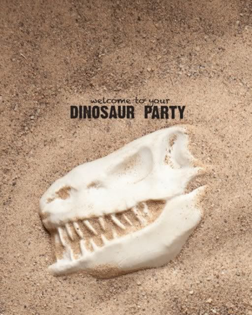 Dinosaur party - make plaster of paris bones for the kids to dig up in a big sandbox.