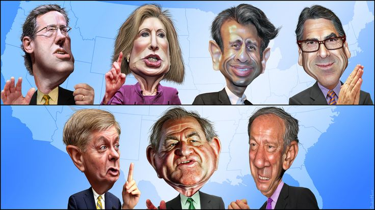 Fox Kids Table Debate: The 7 least popular GOP candidates | by DonkeyHotey