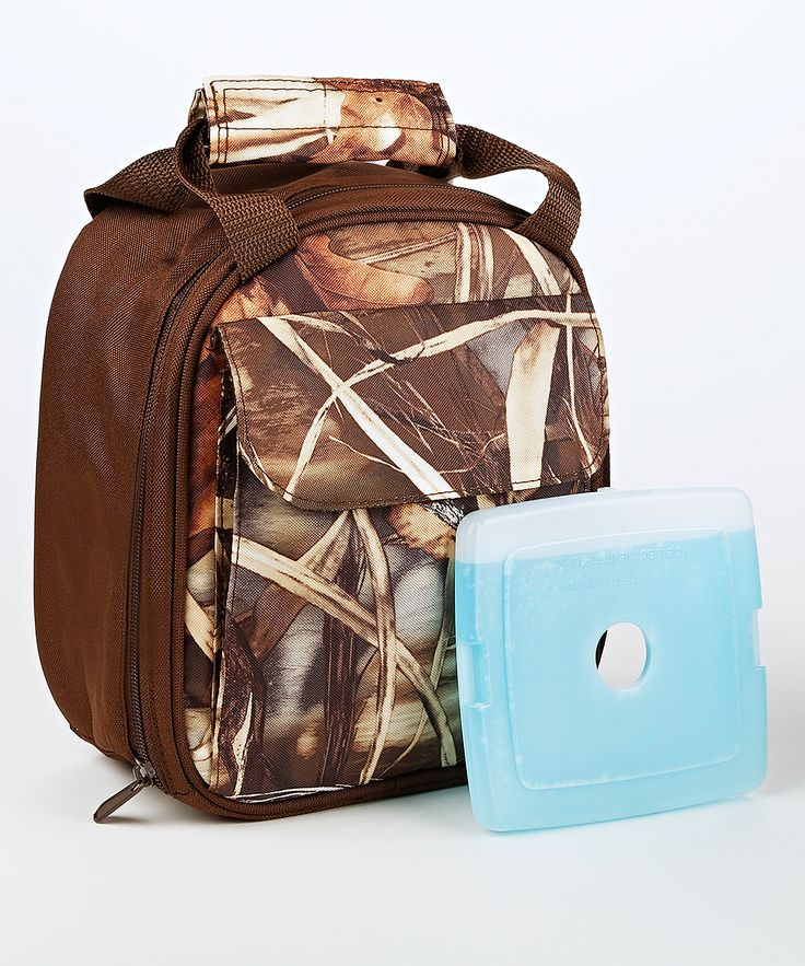 Real Tree Camouflage Nathan Insulated Lunch Bag & Ice Pack
