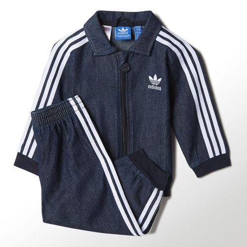 adidas - Conjunto Firebird Jeans Infantil