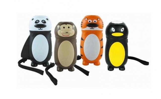 HAND-CRANK CHILDREN'S FLASHLIGHTS - #kids #toy