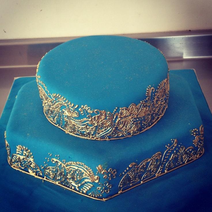 Cake Art By Uzma : 17 Best ideas about Mehndi Cake on Pinterest Henna cake ...