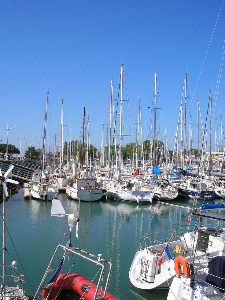 Port de Boyardville. Paysage à proximité de notre résidence Goelia, la Palmeraie à St Georges d'Oléron.