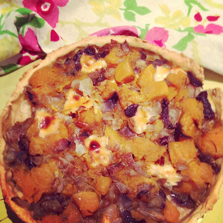 #tortadifrolla#zucca#cipollotti#formaggio