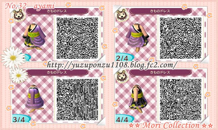 509 Best Animal Crossing New Leaf Qr Codes Images On: 509